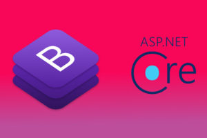 Make a fully functional ASP.NET Core application out of a bootstrap admin template